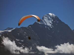 Svájci hegymászós túra
