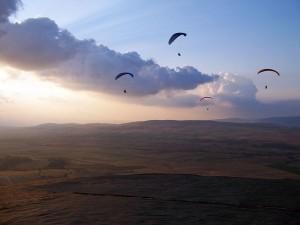 Törökország, esti repülés