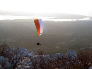 Tengerparti repülés ősszel