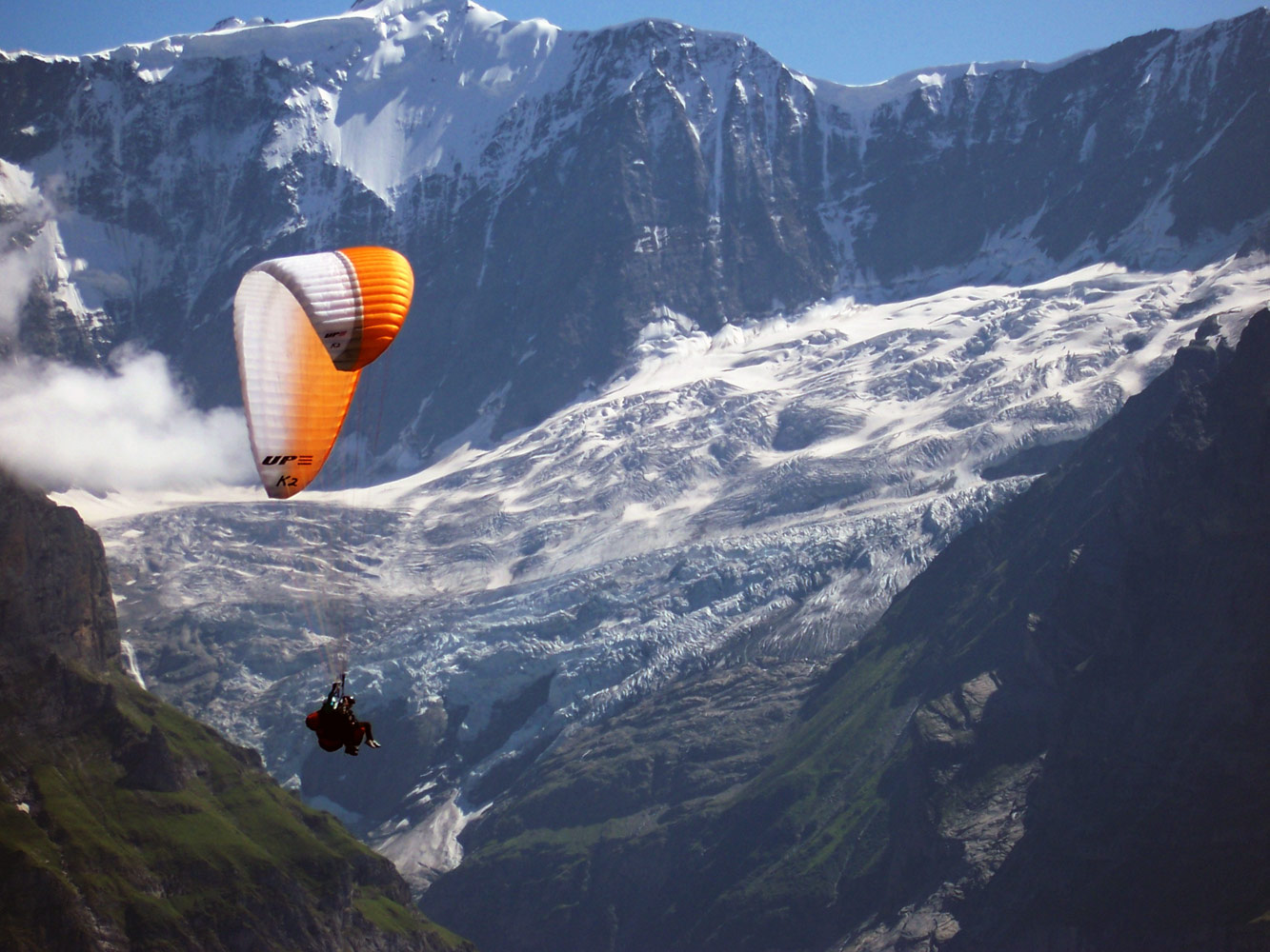 Repülés az Alpokban