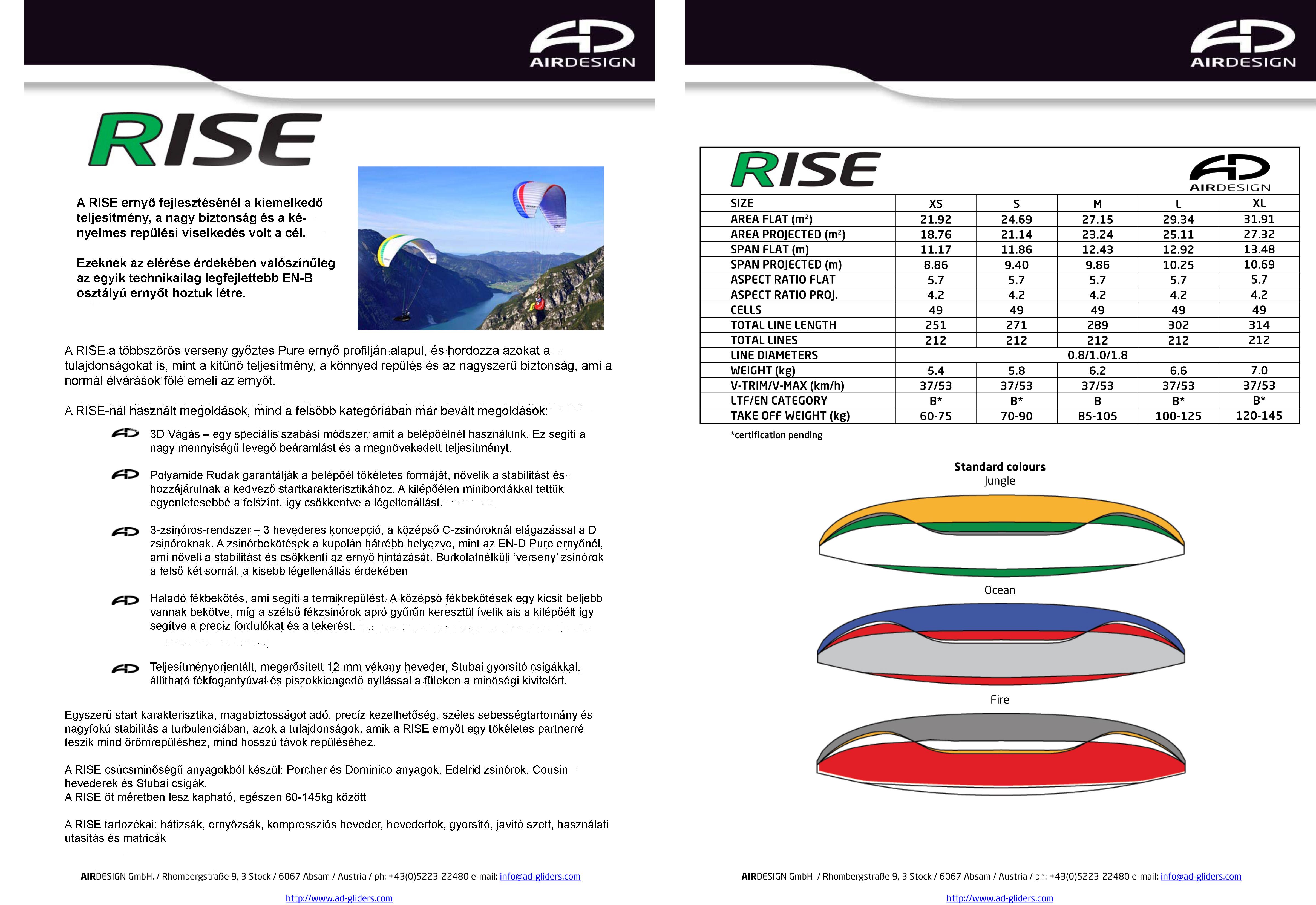 Air Design RISE