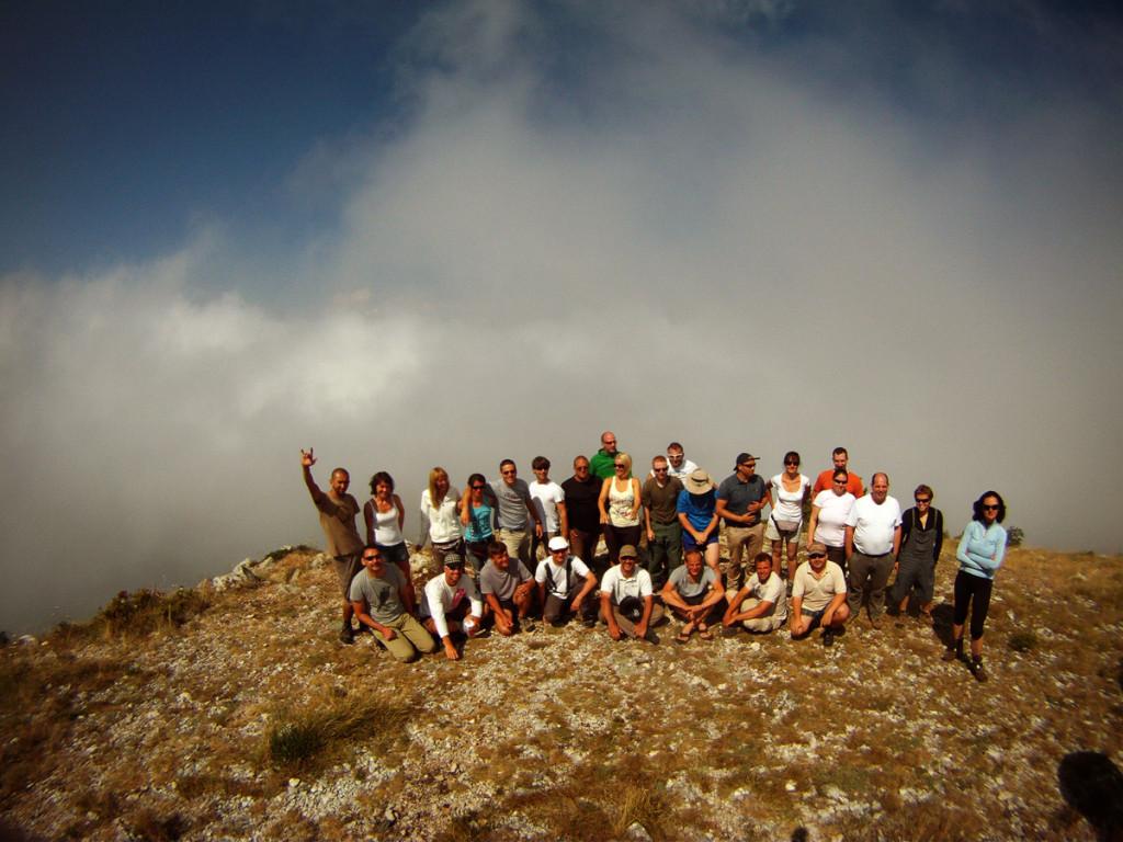 Nyári túra Macedónia - szép nagy csapat