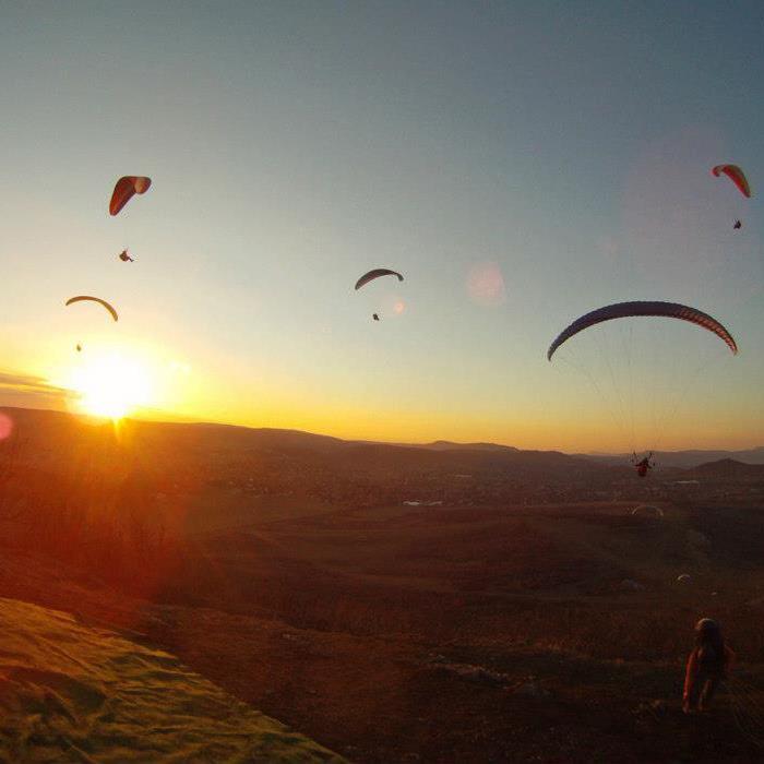 Repülés az Újlaki-hegyen