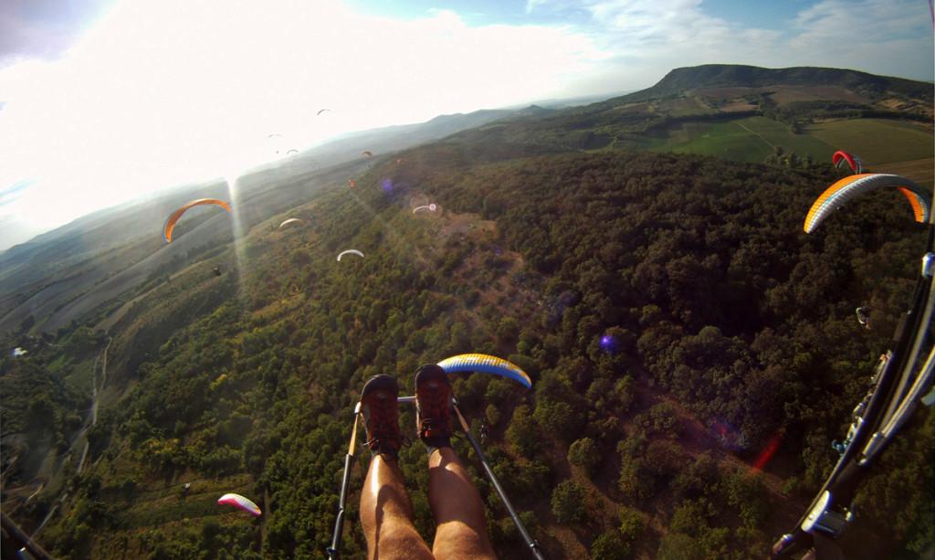 Múlt hétvégi repülés